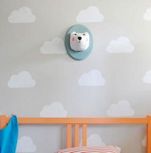 Hazlo tú mismo: Otra idea sencilla y hermosa para decorar las paredes de un dormitorio infantil