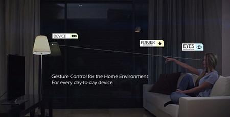Pointgrab y su interesante sistema que te va a permitir controlar tu casa señalando objetos con el dedo