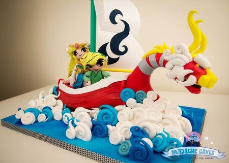 Imagen de la semana: la tarta más golosa de 'The Legend of Zelda: The Wind Waker'
