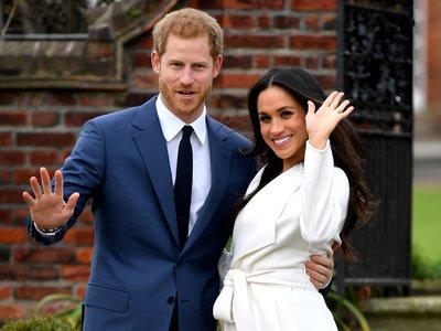 Primeras fotos oficiales del príncipe Harry y Meghan Markle tras el anuncio de su compromiso