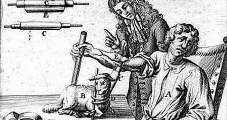 Cuando se usaba la sangre de los corderos para curar enfermedades: la primera transfusión sanguínea y el siglo perdido
