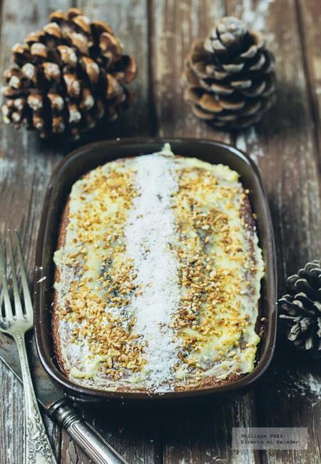 Pastel de Zanahoria. Receta para Navidad