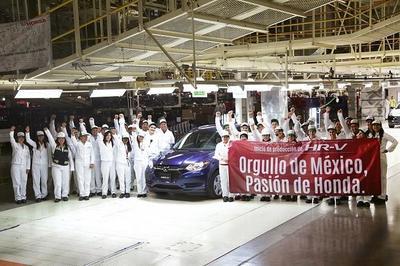 Inicia la producción de Honda HR-V en Celaya, Guanajuato