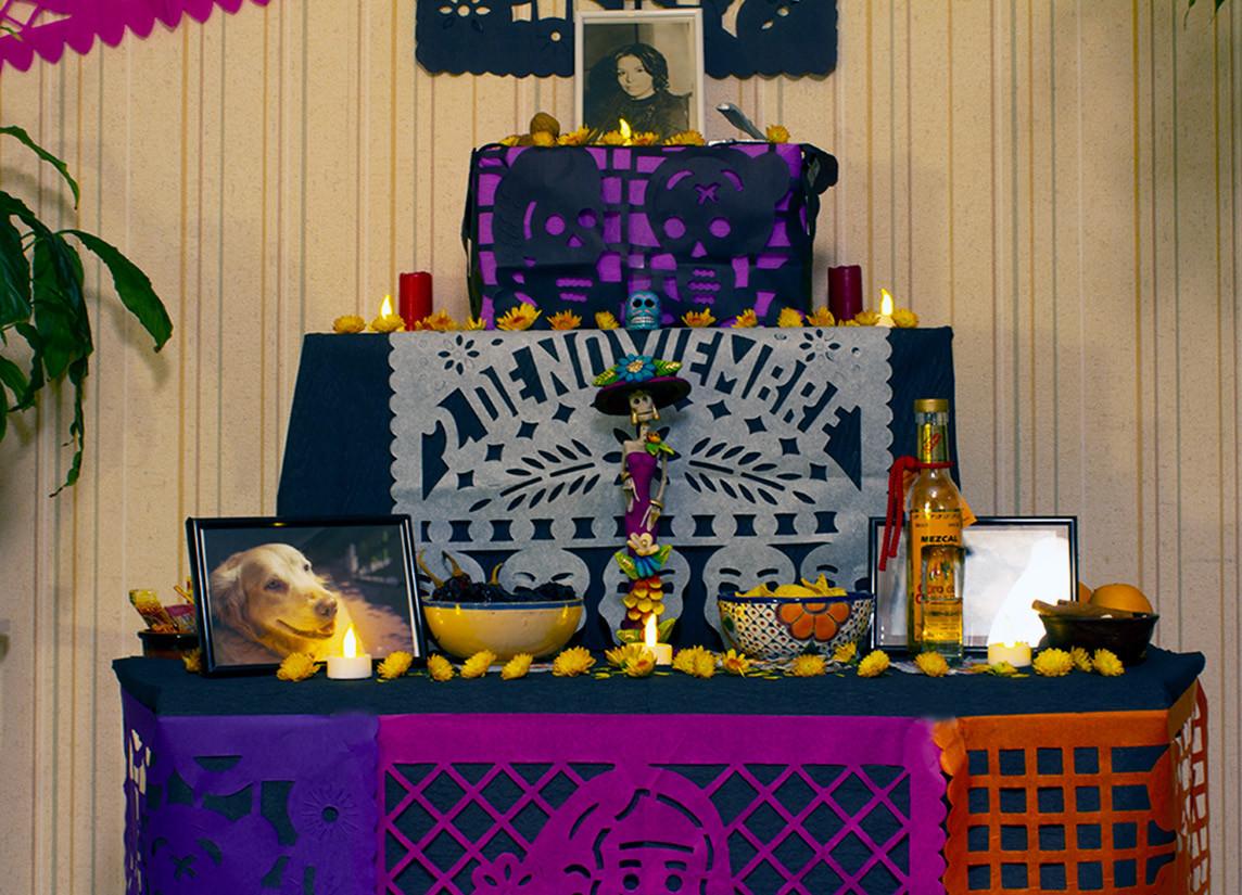 Descubre El Altar De Muertos Una Tradición Mexicana Colorida