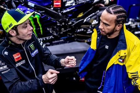 Rossi Hamilton F1 Cheste 2019 3
