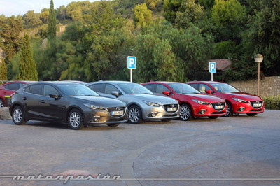 Mazda3, presentación y prueba en Barcelona (parte 1)