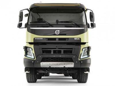 ¿Puede un hámster conducir un camión Volvo FMX?