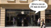 Llegan los nuevos precios en la Apple Store después de la subida del IVA