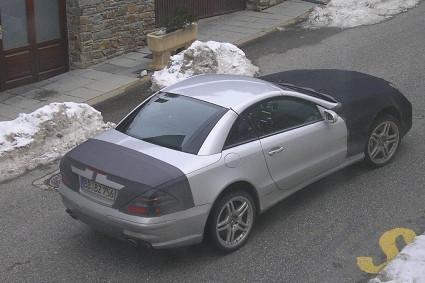 El nuevo Mercedes SL se deja ver por Andorra