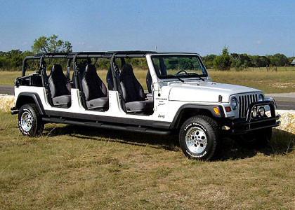El Jeep Wrangler de 6 puertas, el 'MegaUnlimited'