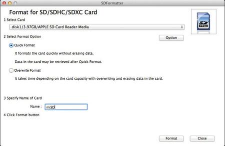 SD Formatter 4