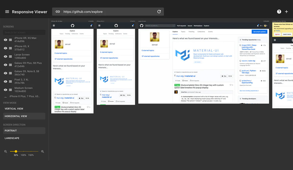 Esta extensión te permitirá comprobar cómo se ve una web en distintos tipos de pantalla