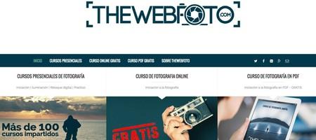 Curso online de TheWebFoto
