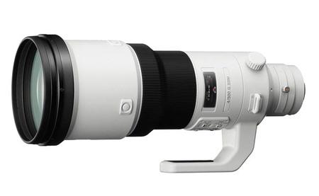 Sony G 500mm f4 SSM: Se presenta el objetivo de focal fija más largo de Sony