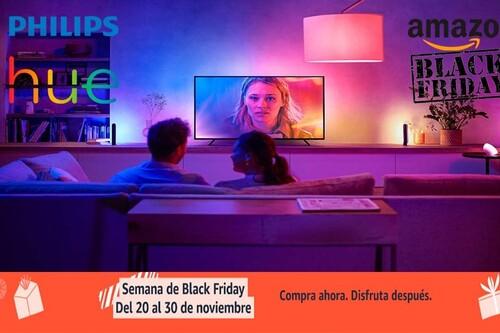 Black Friday en Amazon: 10 ofertas en iluminación LED inteligente Philips Hue. Tu hogar más eficiente a los mejores precios