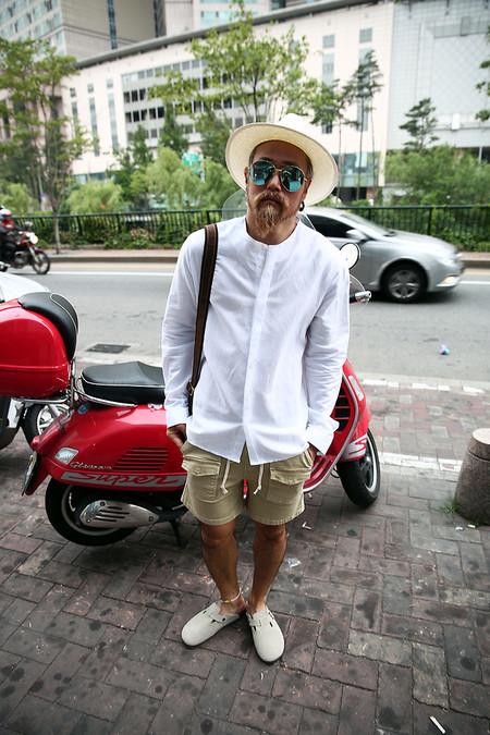Este Verano Las Camisas De Cuello Mao Se Vuelven Un Must Para Todos Tus Looks 3