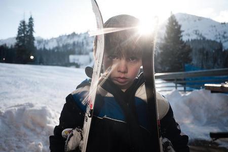 esquiar-con-niños