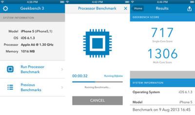 Geekbench 3 se actualiza a los nuevos tiempos
