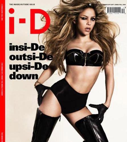 Shakira muy hot en i-D magazine