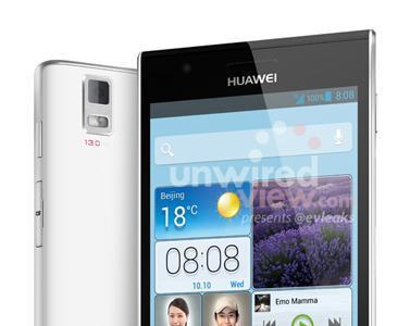 Aparecen nuevas imágenes del Huawei Ascend P2