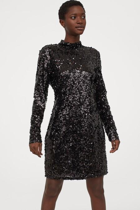 Vestido Navidad 2020 Hm Lentejuelas 06