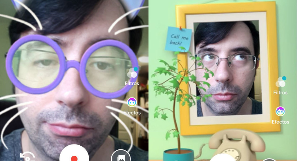 Google Duo adds filters and effects to video messages