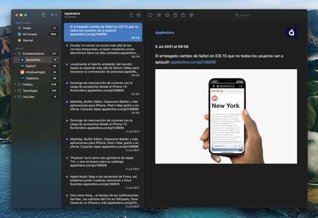 NetNewsWire 6 sigue defendiendo el feed RSS y nos ayuda a huir de las distracciones: App de la Semana