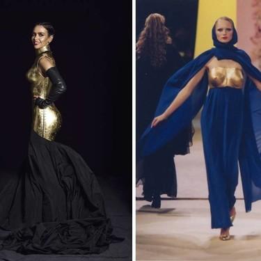 4 diseñadores que han inspirado claramente el vestido-escultura de Cristina Pedroche en Nochevieja