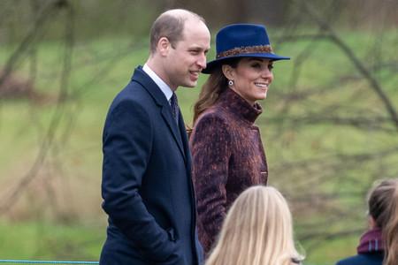 Kate Middleton luce un abrigo de inspiración boho en su primer look del año