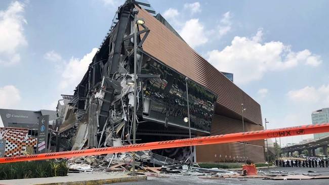 Lo que sabemos del derrumbe de Plaza Artz Pedregal en Ciudad de México y las empresas detrás de su construcción