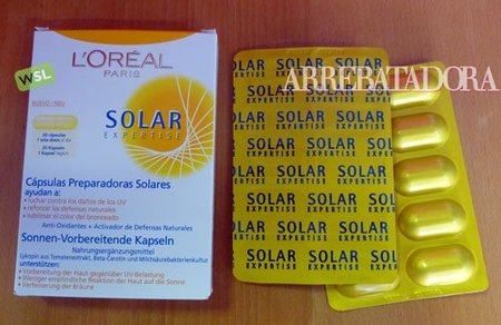 Cápsulas preparadoras para el bronceado L'Oréal Expertise: qué son y cómo tomarlas