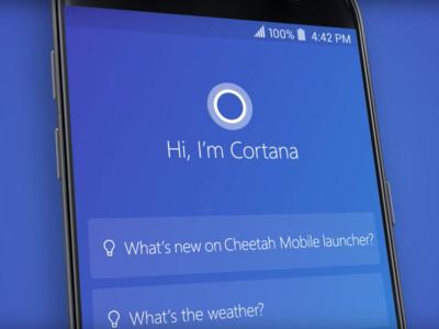La IA será una parte fundamental para que Cortana pueda ofrecer una mejor experiencia de usuario