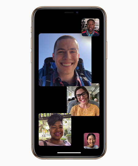 FaceTime grupal