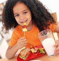 ¿Alimentos light para los niños?