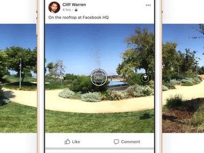 Facebook te permitirá crear fotos panorámicas muy pronto desde su app para Android