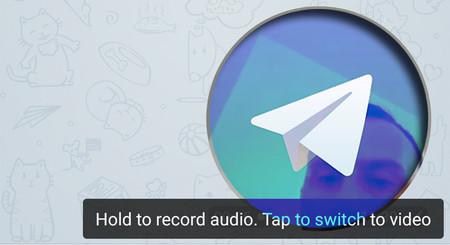 Cómo hacer una nota de vídeo en Telegram, la última novedad de la app de chat