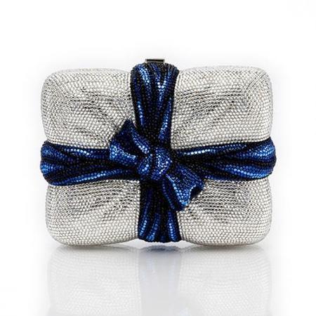 El bolso de lujo de Judith Leiber (IV): el paquete regalo de cristales 'Cherish'
