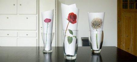 Una buena idea: flores en papel