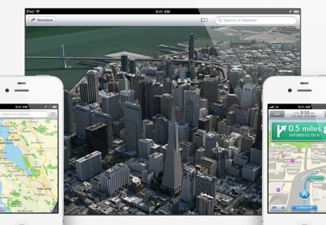 mapas apple ios