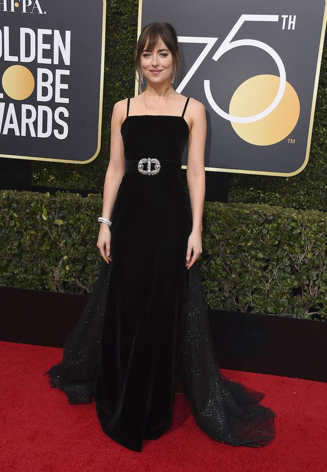 Dakota Johnson Gucci Globos De Oro