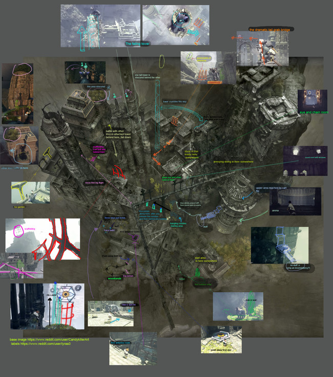 The Last Guardian Mapa 02
