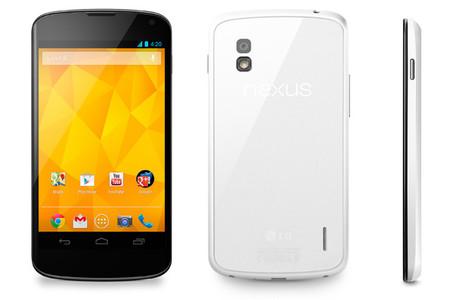 El LG Nexus 4 se viste de blanco