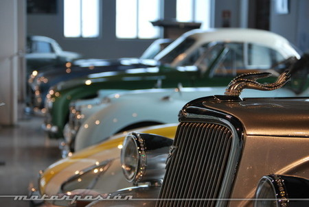 Visita al Museo Automovilístico de Málaga