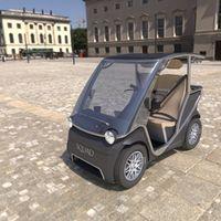 Squad, un pequeño coche eléctrico impulsado por energía solar cuyo precio no supera los 6.000 euros