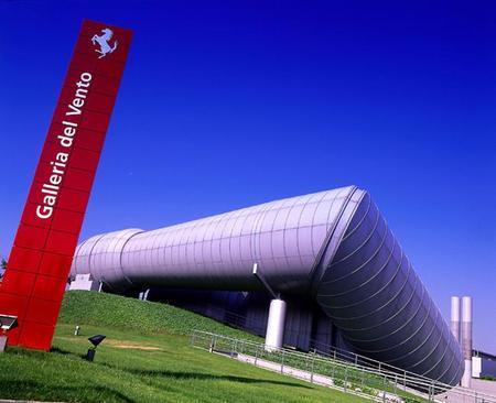 La historia sin fin; Ferrari y su túnel de viento.