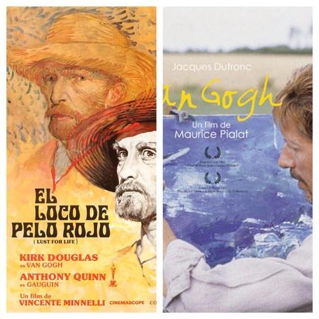 Carteles El loco del pelo rojo y Van Gogh Pialat.