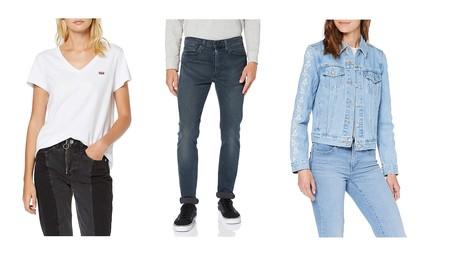 Hasta 30% de descuento en pantalones, camisetas, chaquetas o sudaderas Levi's para hombre y mujer en Amazon