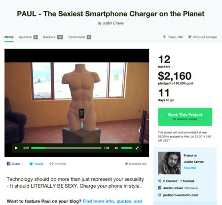 PAUL, el cargador de móviles más sexy del mundo