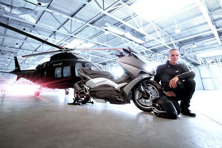 Yamaha T-Max 530 Hyper Modified por Ludovic Lazareth