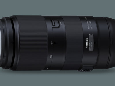 Tamron 100-400mm F/4.5-6.3 Di VC USD, nuevo teleobjetivo de largo alcance para cámaras Canon y Nikon full frame
